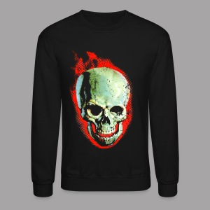 The Screaming Skull Men's Horror Movie T Shirt - Crewneck Sweatshirt
