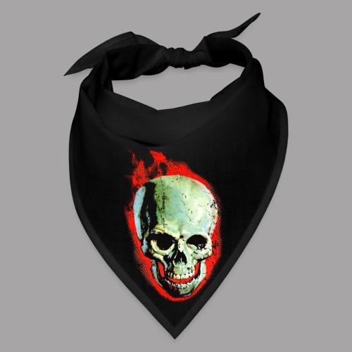 The Screaming Skull Men's Horror Movie T Shirt - Bandana