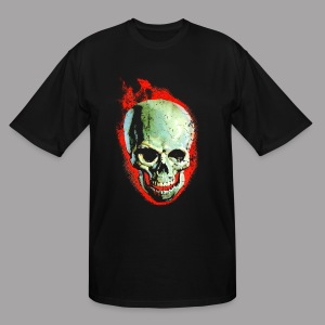 The Screaming Skull Men's Horror Movie T Shirt - Men's Tall T-Shirt