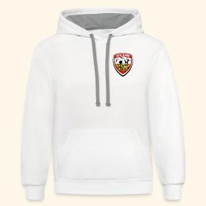 T-shirt Club Espace Soccer - Molleton à capuche contrastant