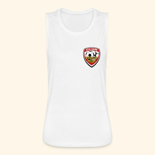 T-shirt Club Espace Soccer - Women's Flowy Muscle Tank by Bella