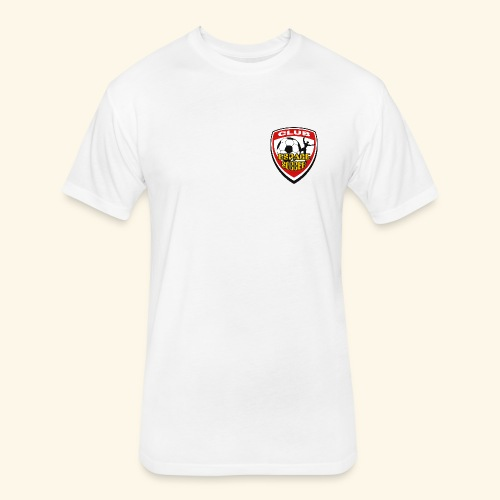 T-shirt Club Espace Soccer - Fitted Cotton/Poly T-Shirt by Next Level
