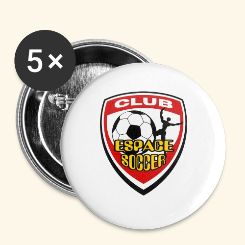 T-shirt Club Espace Soccer - Large Buttons