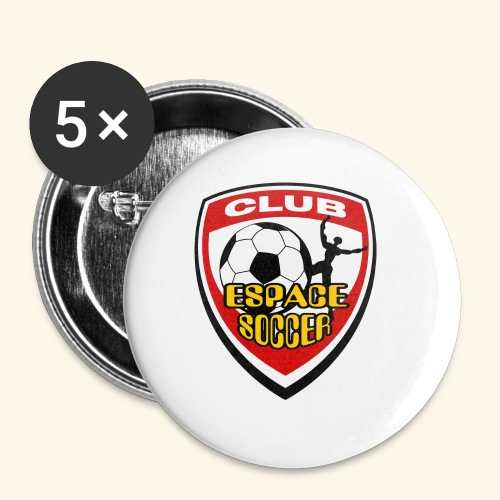 T-shirt Club Espace Soccer - Small Buttons