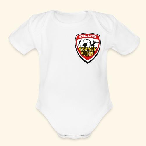T-shirt Club Espace Soccer - Organic Short Sleeve Baby Bodysuit