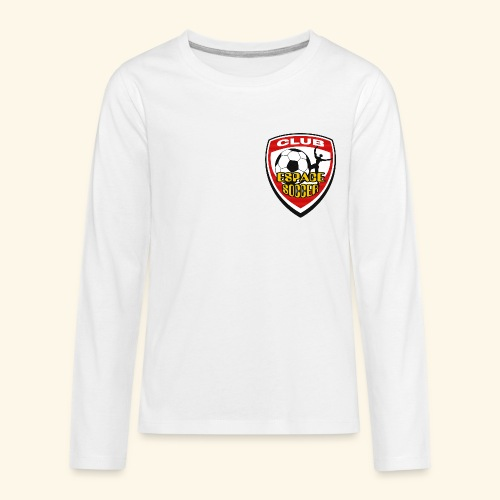T-shirt Club Espace Soccer - Kids' Premium Long Sleeve T-Shirt