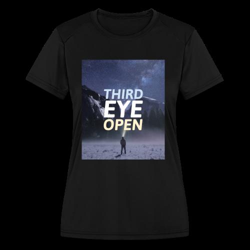 Third Eye Open - Women's Moisture Wicking Performance T-Shirt