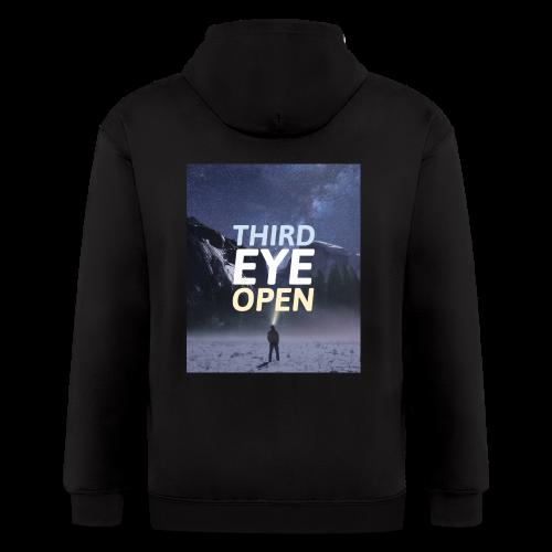 Third Eye Open - Men's Zip Hoodie