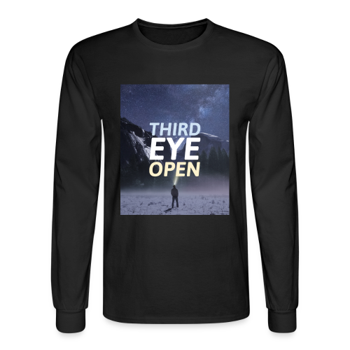 Third Eye Open - Men's Long Sleeve T-Shirt
