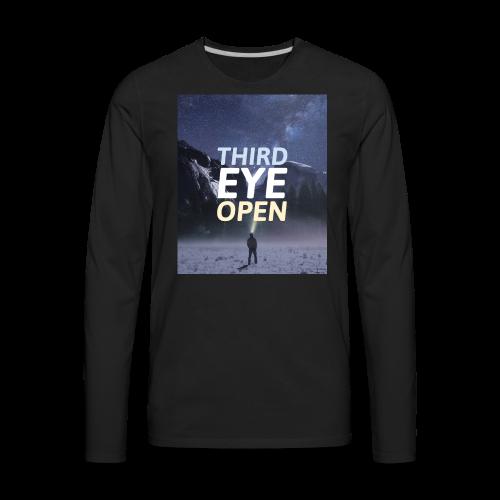Third Eye Open - Men's Premium Long Sleeve T-Shirt