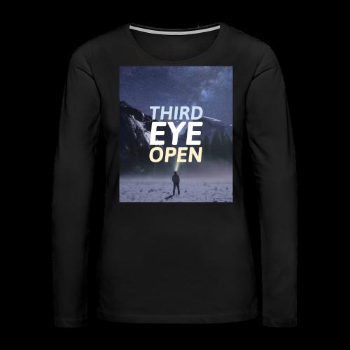 Third Eye Open - Women's Premium Long Sleeve T-Shirt