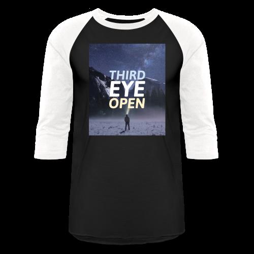 Third Eye Open - Baseball T-Shirt