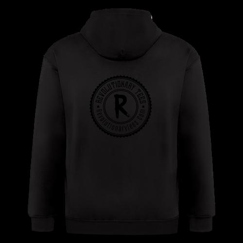R-tees Badge - Men's Zip Hoodie