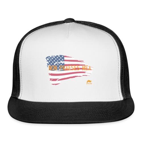 Men's t-shirt Not my president in Latin  - Trucker Cap