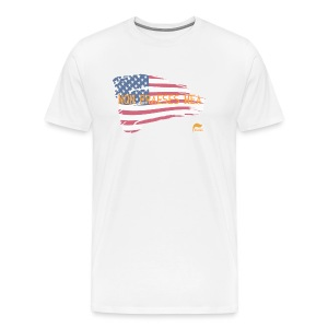 Men's t-shirt Not my president in Latin  - Men's Premium T-Shirt