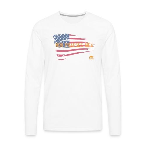Men's t-shirt Not my president in Latin  - Men's Premium Long Sleeve T-Shirt