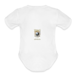 Vikings North America Beverage Cup - Short Sleeve Baby Bodysuit