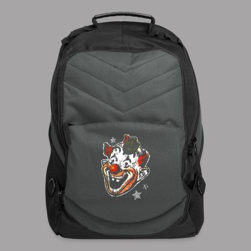 Retro Clown Topstone Mask Men's Halloween Shirt - Computer Backpack