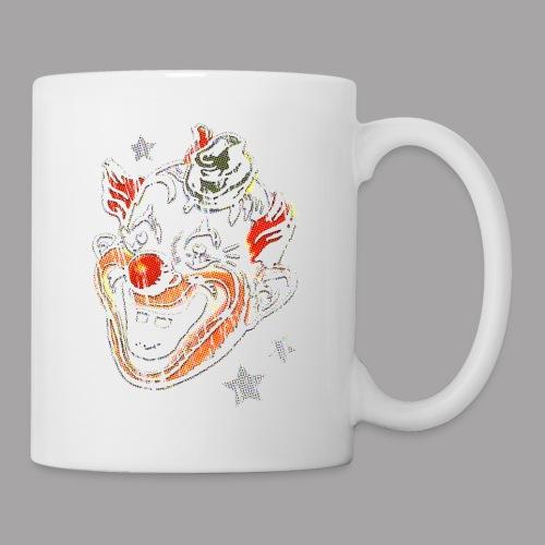 Retro Clown Topstone Mask Men's Halloween Shirt - Coffee/Tea Mug