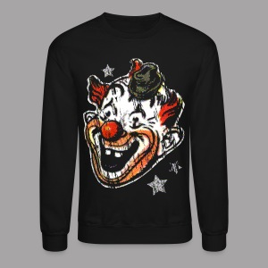 Retro Clown Topstone Mask Men's Halloween Shirt - Crewneck Sweatshirt