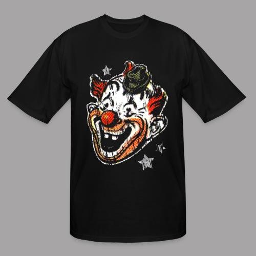 Retro Clown Topstone Mask Men's Halloween Shirt - Men's Tall T-Shirt