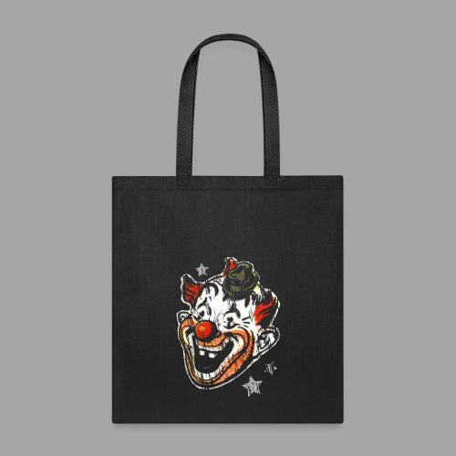 Retro Clown Topstone Mask Men's Halloween Shirt - Tote Bag