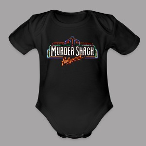 Murder Shack Hollywood Men's Horror Shirt - Short Sleeve Baby Bodysuit