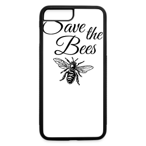 Save the Bees Beekeeper T-Shirt - iPhone 7 Plus Rubber Case