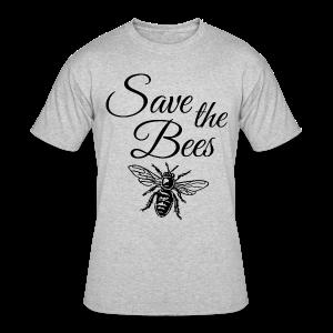 Save the Bees Beekeeper T-Shirt - Men's 50/50 T-Shirt