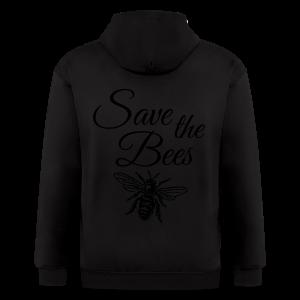 Save the Bees Beekeeper T-Shirt - Men's Zip Hoodie