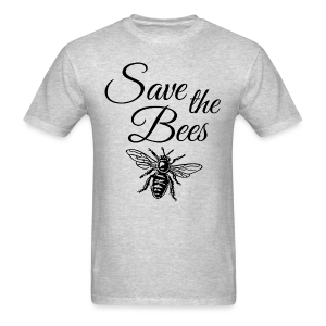 Save the Bees Beekeeper T-Shirt - Men's T-Shirt