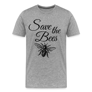 Save the Bees Beekeeper T-Shirt - Men's Premium T-Shirt