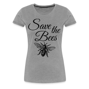 Save the Bees Beekeeper T-Shirt - Women's Premium T-Shirt