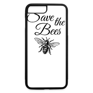 Save the Bees Beekeeper T-Shirt - iPhone 7 Plus/8 Plus Rubber Case