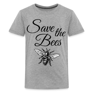 Save the Bees Beekeeper T-Shirt - Kids' Premium T-Shirt