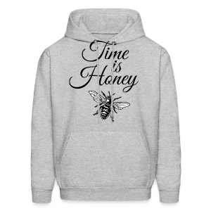 Time is Honey Beekeeper T-Shirt - Men's Hoodie
