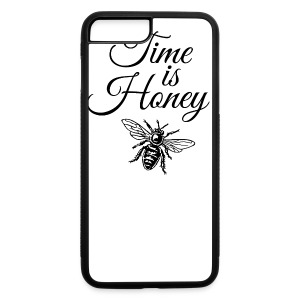 Time is Honey Beekeeper T-Shirt - iPhone 7 Plus/8 Plus Rubber Case