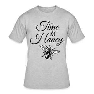 Time is Honey Beekeeper T-Shirt - Men's 50/50 T-Shirt