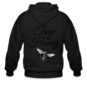 Time is Honey Beekeeper T-Shirt - Men's Zip Hoodie