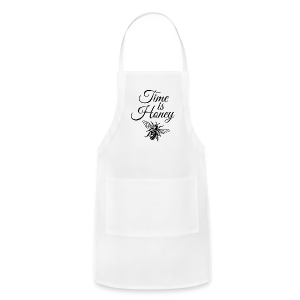 Time is Honey Beekeeper T-Shirt - Adjustable Apron