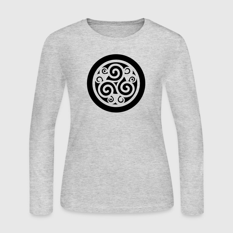 Triskelion - Women's Long Sleeve Jersey T-Shirt