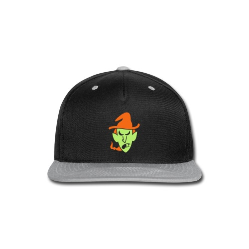 Angry Halloween Witch - Snap-back Baseball Cap