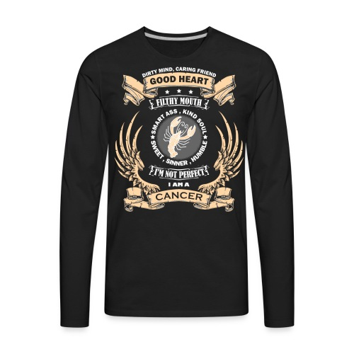 Zodiac Sign - Cancer - Men's Premium Long Sleeve T-Shirt