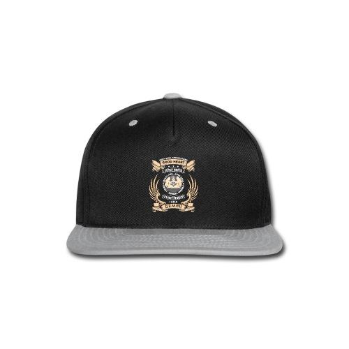 Zodiac Sign - Gemini - Snap-back Baseball Cap