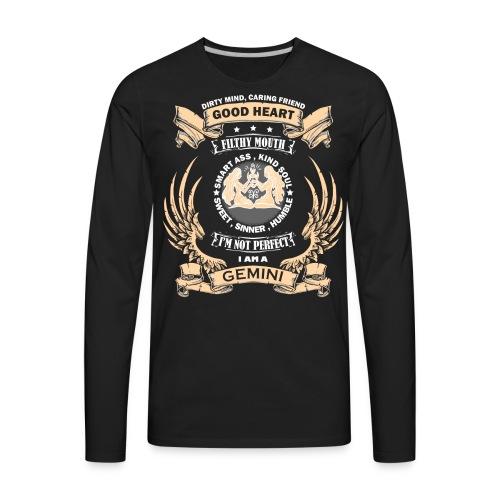 Zodiac Sign - Gemini - Men's Premium Long Sleeve T-Shirt