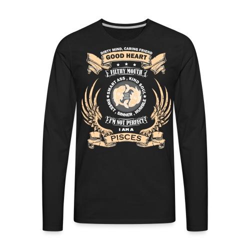 Zodiac Sign - Pisces - Men's Premium Long Sleeve T-Shirt