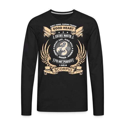 Zodiac Sign - Scorpio - Men's Premium Long Sleeve T-Shirt