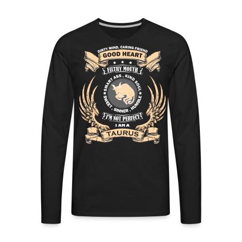 Zodiac Sign - Taurus - Men's Premium Long Sleeve T-Shirt