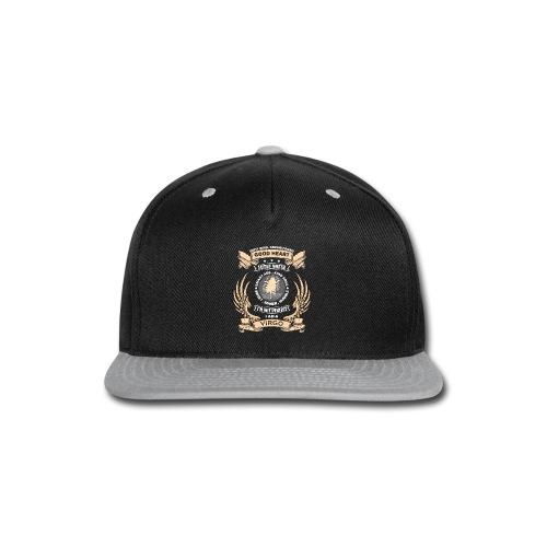 Zodiac Sign - Virgo - Snap-back Baseball Cap