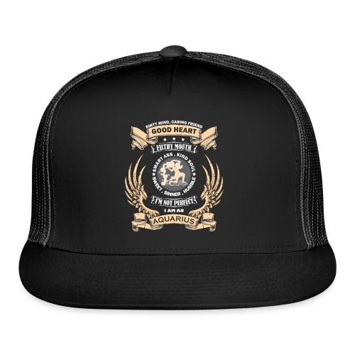 Zodiac Sign - Aquarius - Trucker Cap